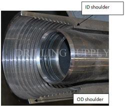 DS Drill pipe - Advanced thread design